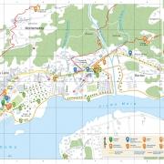 mappa Sorico e Gera Lario
