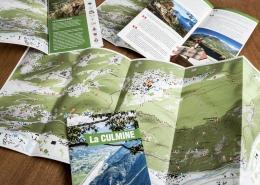 carta escursionistica culmine