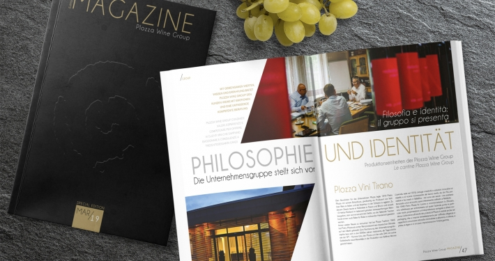 Magazine Plozza Wine Group - marzo 2019