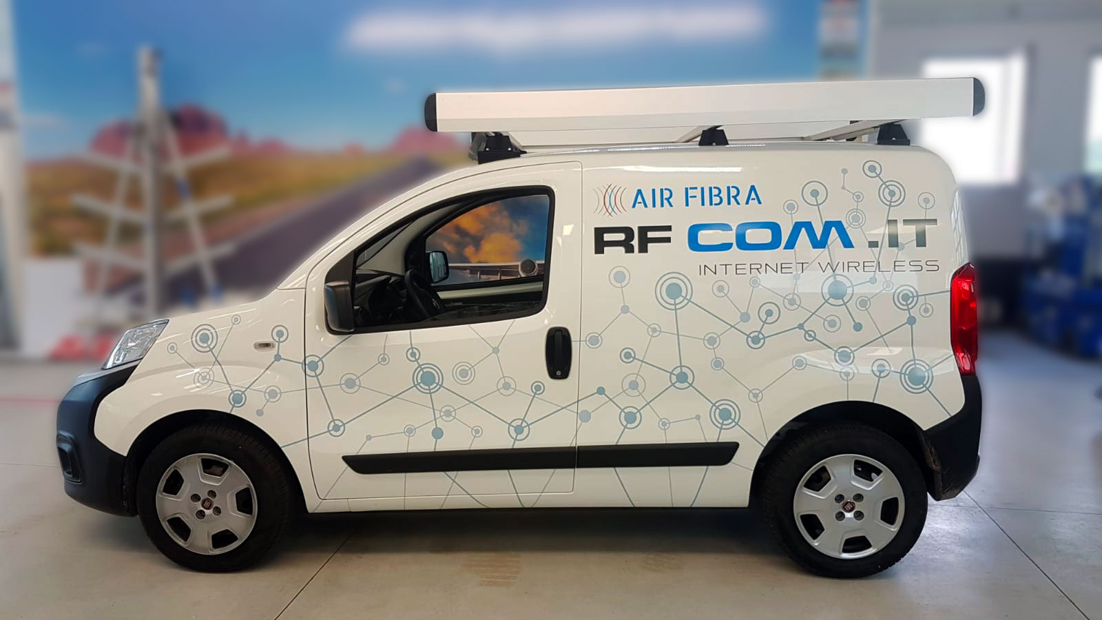 personalizzazione furgone