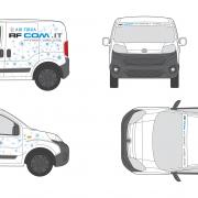 progetto personalizzazione furgone